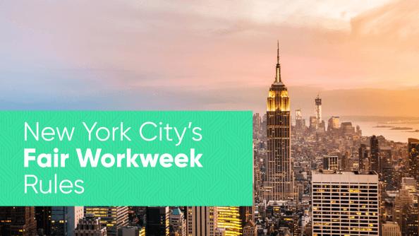 NYC Fair Workweek