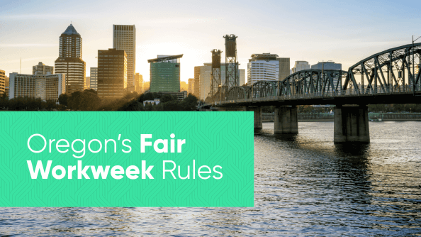 Oregon Fair Workweek