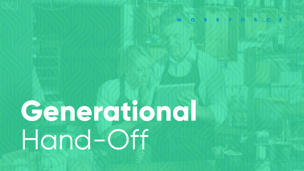 millennial managers generational hand-off