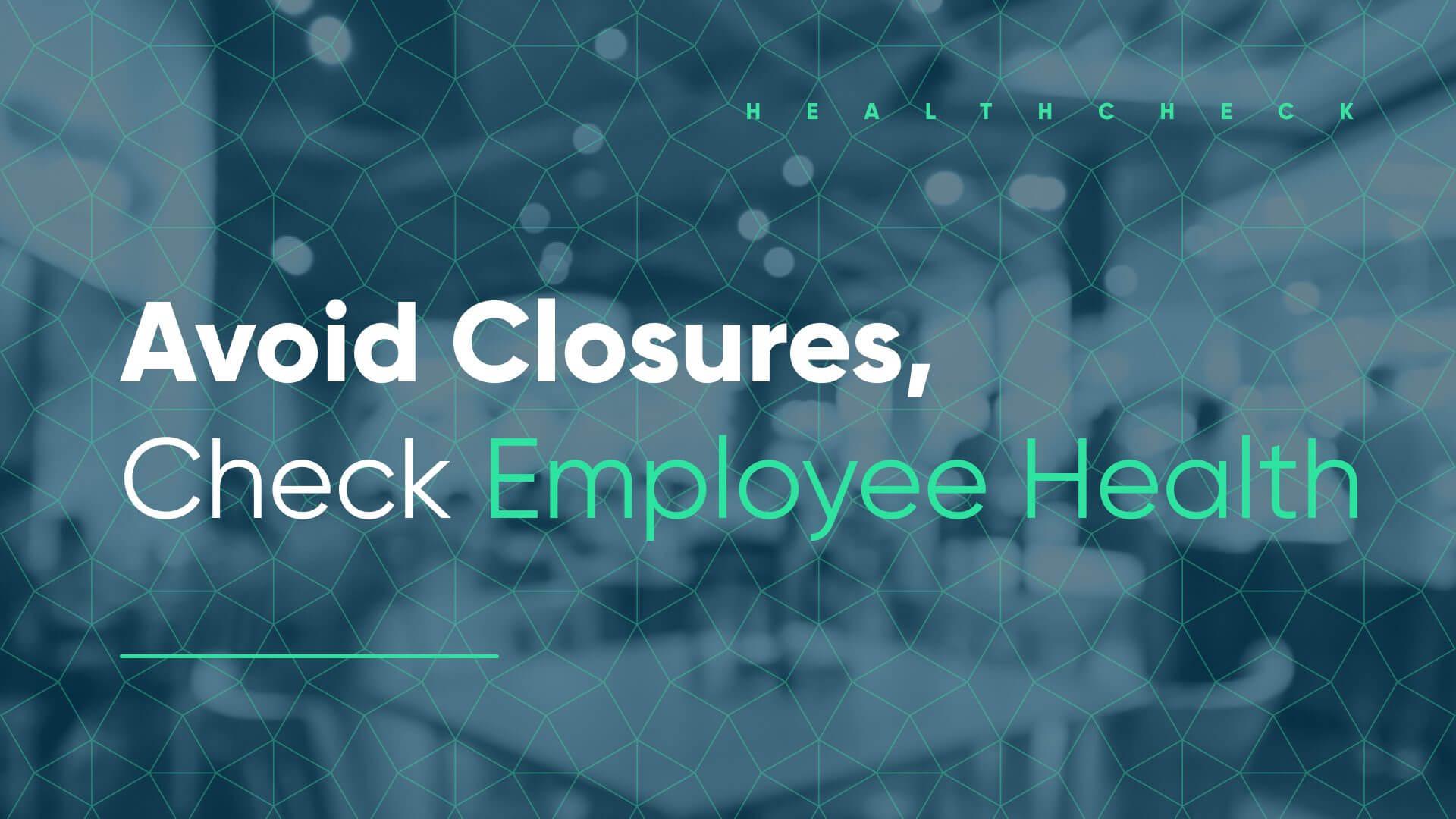 employee health check for restaurants