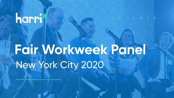 Harri NYC Fair Workweek discussion