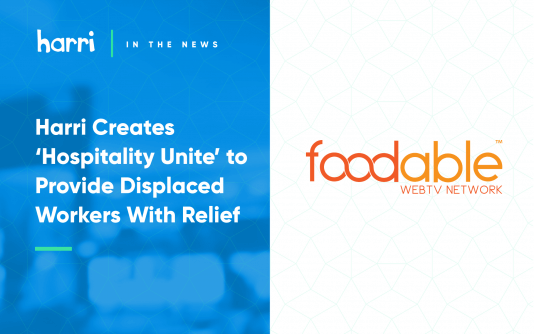 Hospitality Unite by Harri featured in Foodable TV!