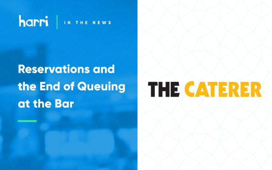 Harri the Caterer restaurant operations feature