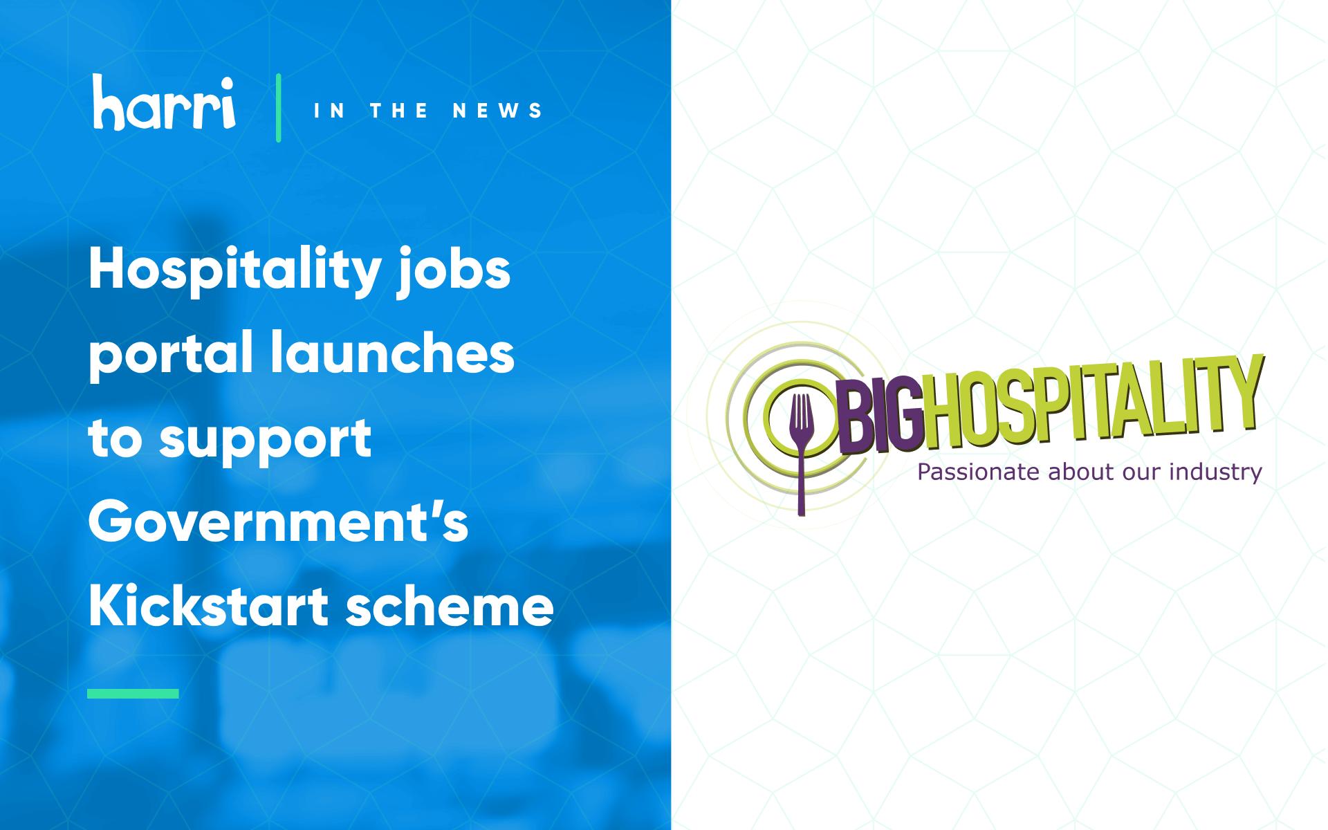 Kickstart Scheme from Big Hospitality