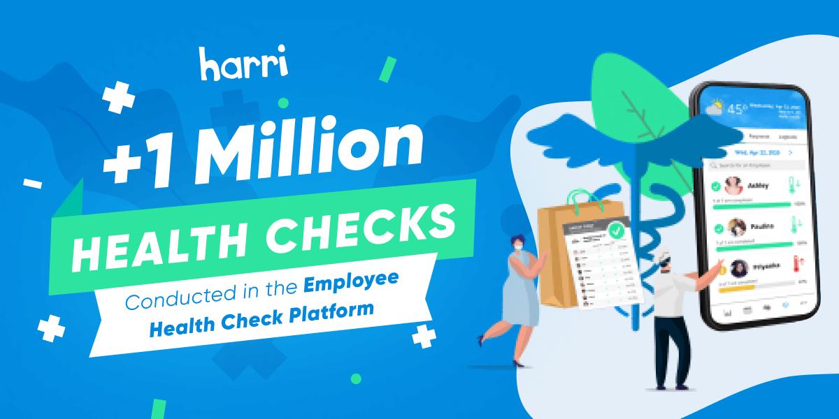 1 million employee health checks