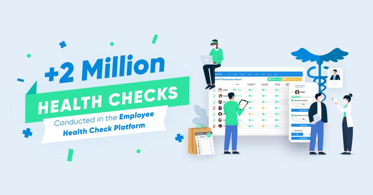 2 million employee health checks harri
