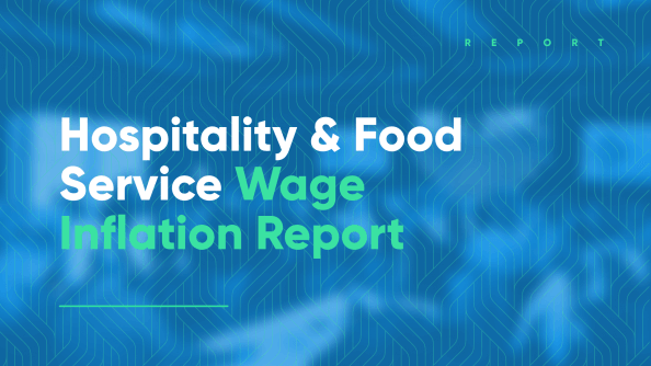 Wage Inflation data report for hospitality