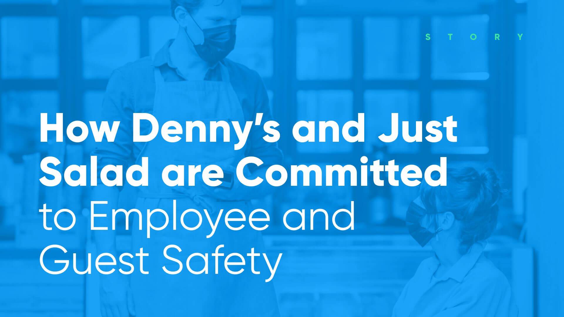 dennys and jsutsalad use employee health check software