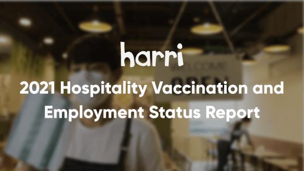 hospitality covid vaccination data report