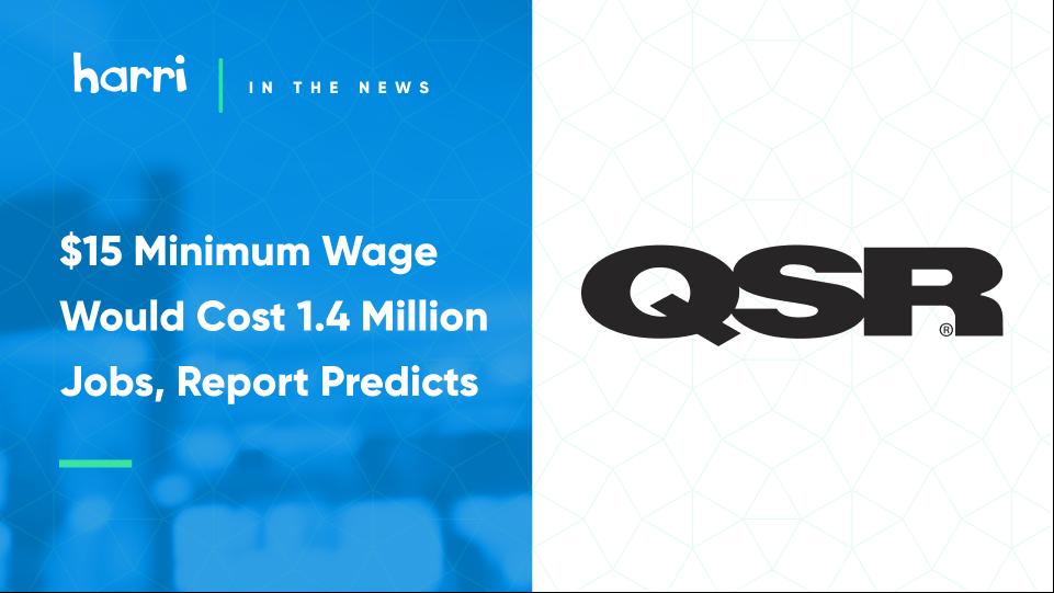 minimum wage data QSR