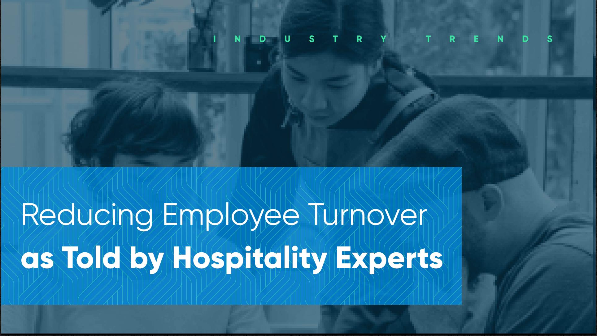 hospitality employee retention and turnover webinar