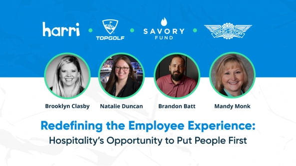 webinar on Redefining the Employee Experience: Hospitality's Opportunity to Put People First