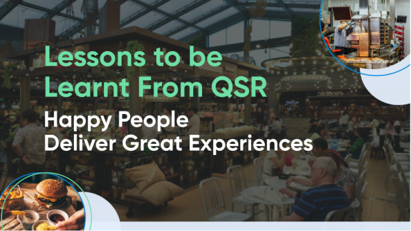 Happy People Deliver Great Experiences