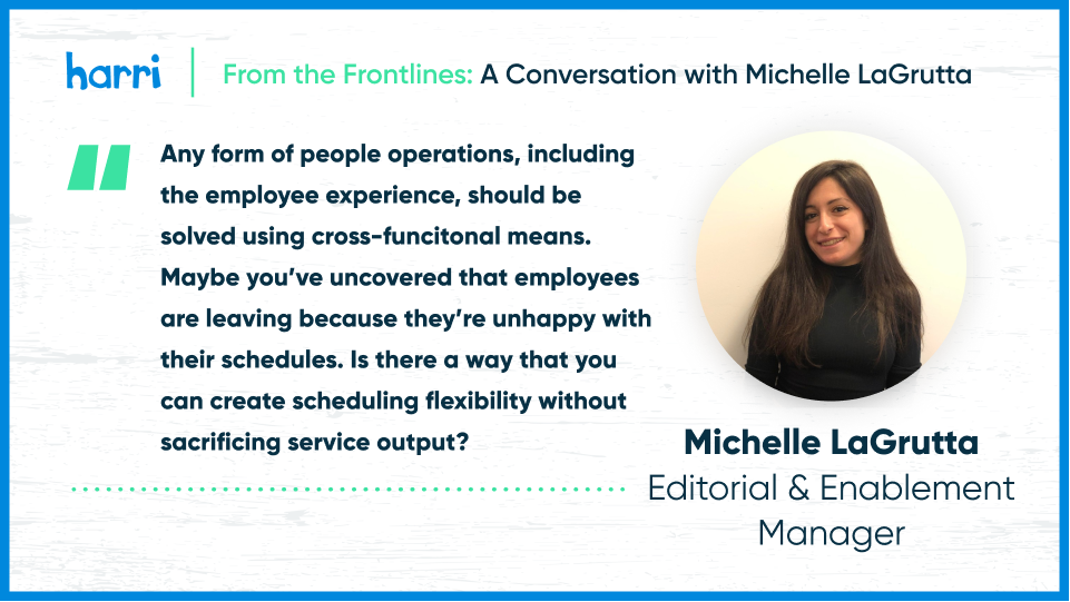 employee experience tech for hospitality