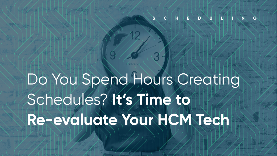 ntil you begin to connect critical employee workforce data with your scheduling and payroll systems, your teams will always struggle with manual work and ineffective scheduling.