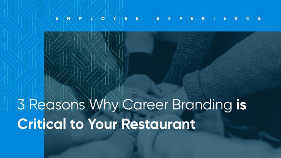 career branding for restaurants