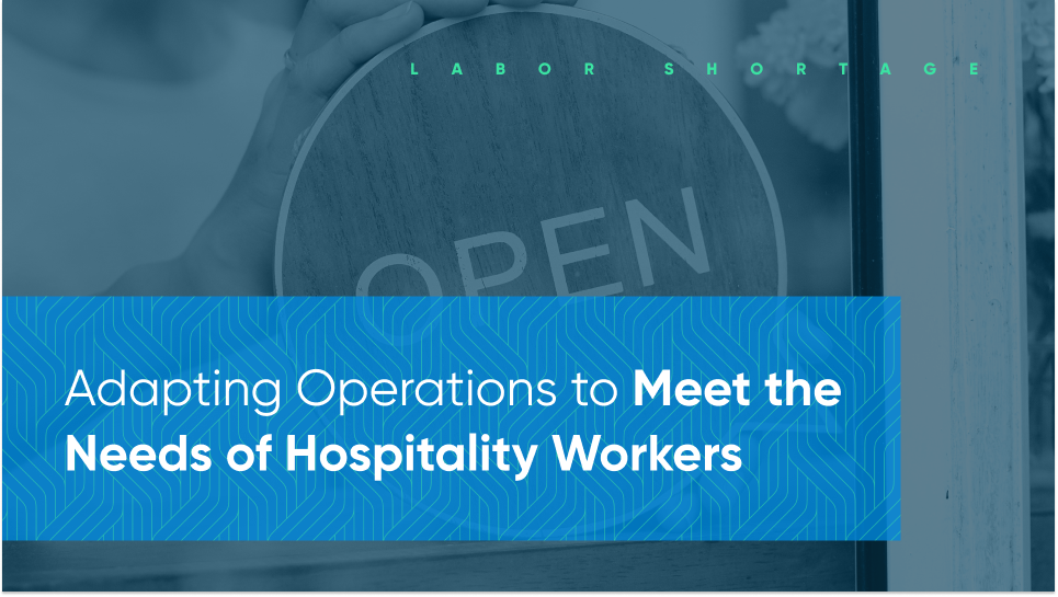 how to adapt hospitality operations
