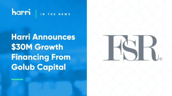 Harri FSR funding announcement