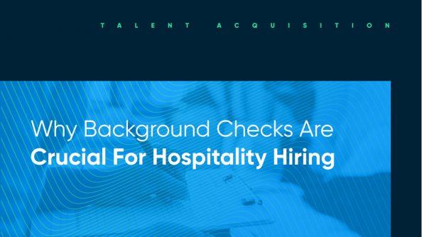restaurant background check software