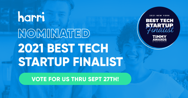 Harri Timmy Awards Best Tech Startup 2021