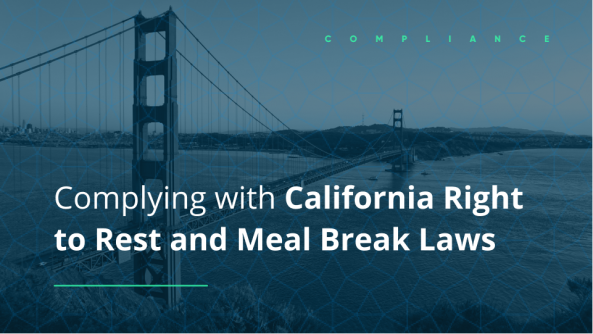 how to comply with california meal break laws right to rest