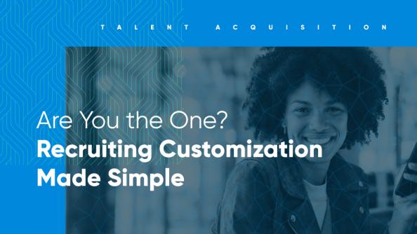 conversational ai to automate hiring customization